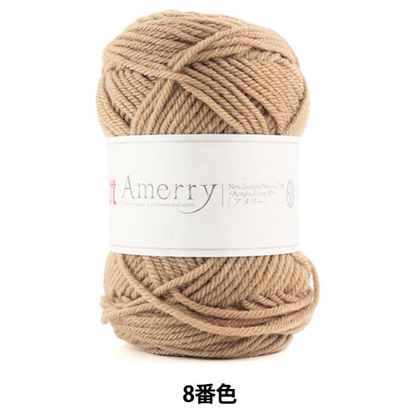 秋冬毛糸 『Amerry (アメリー) 8番色』 Hamanaka ハマナカ