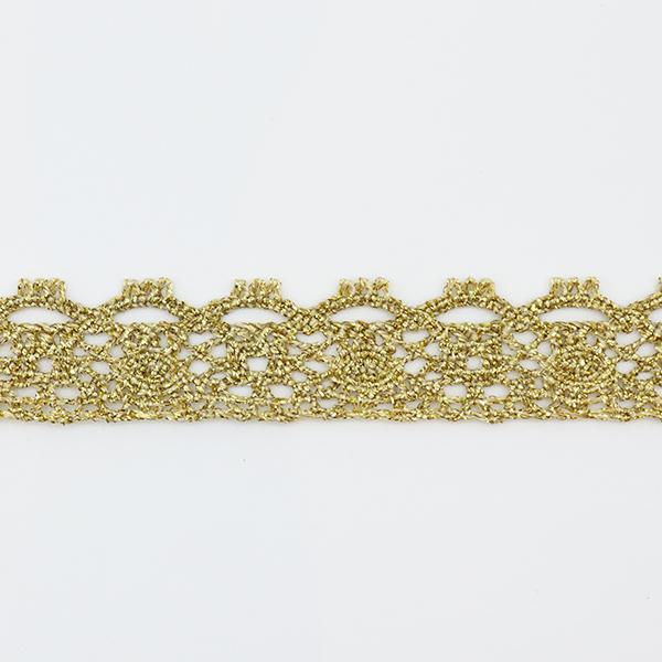 【数量5から】 レースリボンテープ 『ラメトーション ゴールド 21023G』