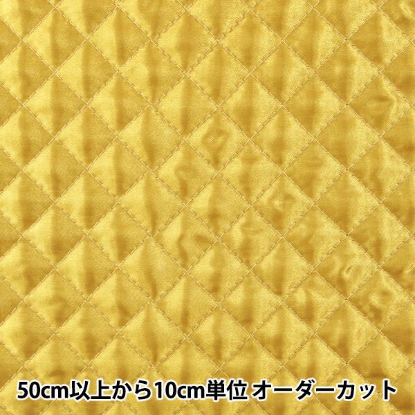 【数量5から】生地 『サテンキルト ゴールド 金 AQ1500-52』