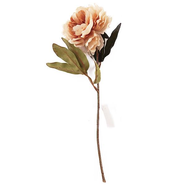 造花 シルクフラワー 『ビンテージピオニー ベージュ F5037』