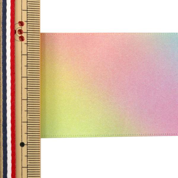 【数量5から】リボン 『レインボーリボン 両面サテン 48mm 8番色』