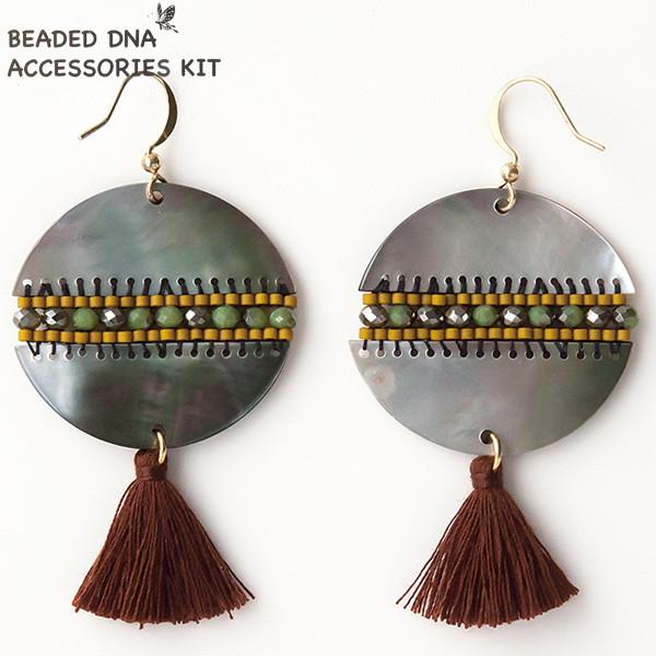 ビーズキット 『BEADED DNA ACEESSORIES KIT DIYキットシリーズ ピアス DIY-3』 TOHO BEADS トーホービーズ