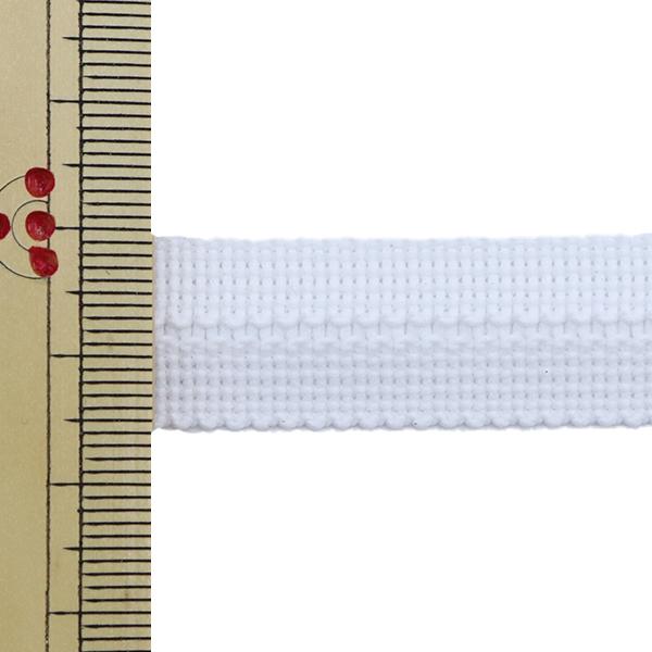 【数量5から】 手芸テープ 『ポリエステルニットバインダーテープ SIC-2303 1番色』