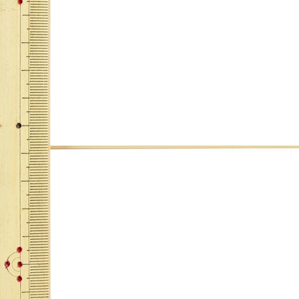 【数量5から】 手芸ひも 『レザーテープ 幅約1mm 4番色 アイボリー L-120』