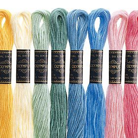 オリムパス 25番刺しゅう糸 38 [刺繍糸/ししゅう糸]