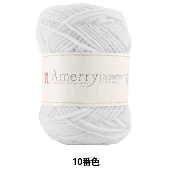 秋冬毛糸 『Amerry (アメリー) 10番色』 Hamanaka ハマナカ