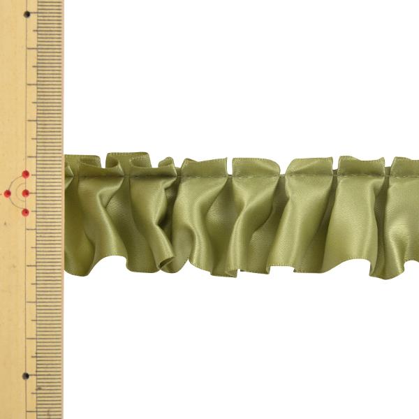 リボン 『サテンフリルリボン N7700 3.8cm幅×5m 17番色 一反売り』