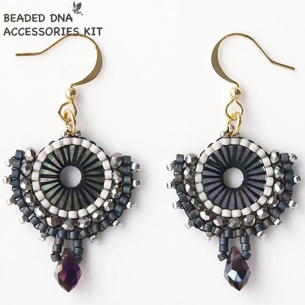 ビーズキット 『BEADED DNA ACEESSORIES KIT DIYキットシリーズ ピアス DIY-4』 TOHO BEADS トーホービーズ
