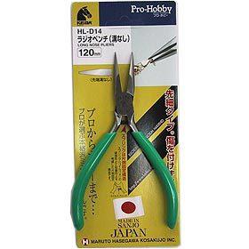 手芸工具 『KEIBA プロホビー ラジオペンチ (溝なし) 120mm』 KEIBA ケイバ