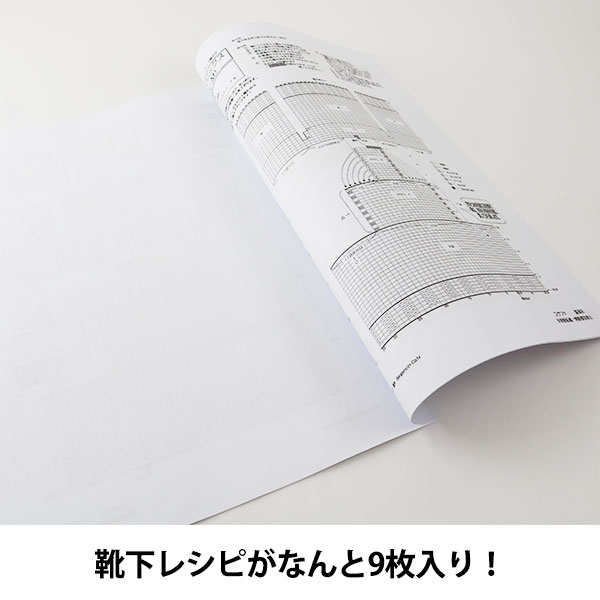 Opal毛糸&編針特別セット『Schafpate XI 4ply (シャーフパーテ11) +輪針セット(編み図付き)』【送料無料】