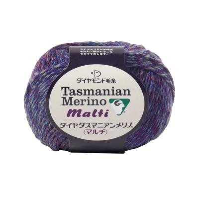秋冬毛糸 『Dia tasmanian malti (ダイヤタスマニアンマルチ) 224番色』 DIAMOND ダイヤモンド