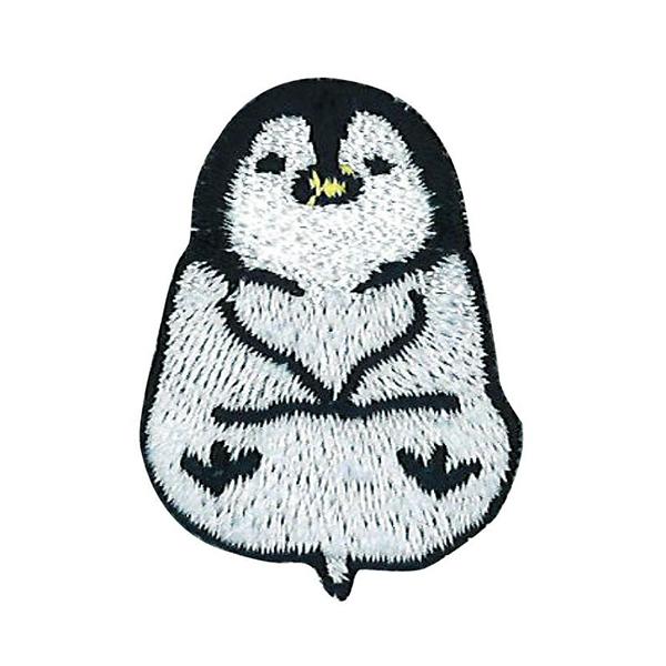 ワッペン 『ゆるっとアニマル ペンギン YAW-02』