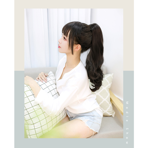 エクステ 『Tefure(テフリ) ポニテバンス ショコラ』 富士達 M053