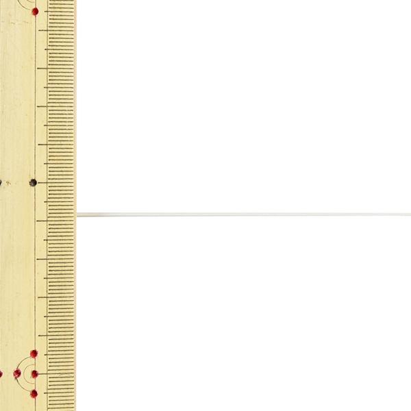 【数量5から】 手芸ひも 『レザーテープ 幅約1mm 10番色 白 L-120』