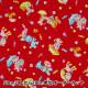【食べ物生地最大20%オフ】 【数量5から】 生地 『シーチングプリント レトロアニマル 傘キャンディ柄 AP05408-1E』 COSMO コスモ