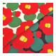 【数量5から】生地 『綿麻キャンバス つばき (椿) KSP-5375-A』 COTTON KOBAYASHI コットンこばやし 小林繊維