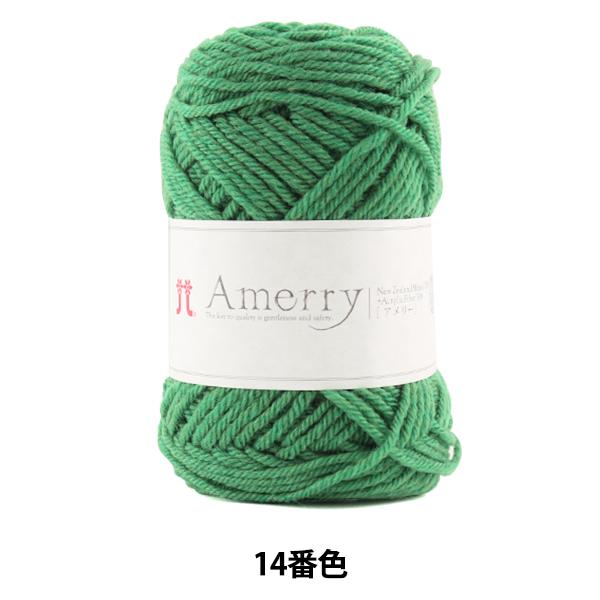 秋冬毛糸 『Amerry (アメリー) 14番色』 Hamanaka ハマナカ