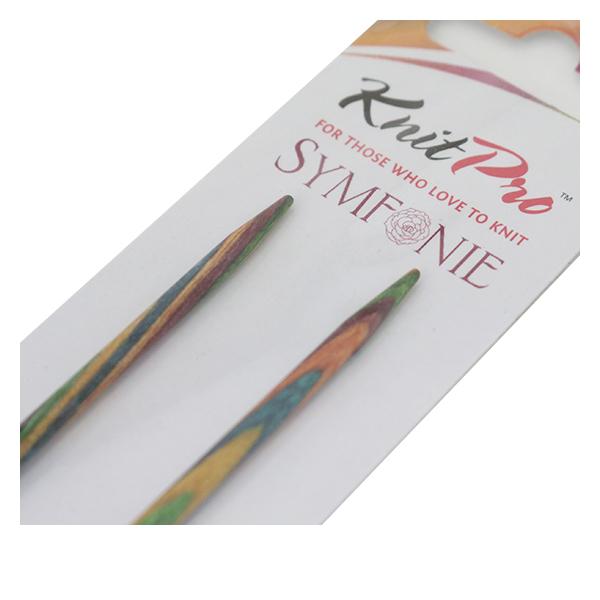 【編み物道具最大20%オフ】編み針 『Symfonie (シンフォニー) 2本針 35cm6号』 KnitPro ニットプロ