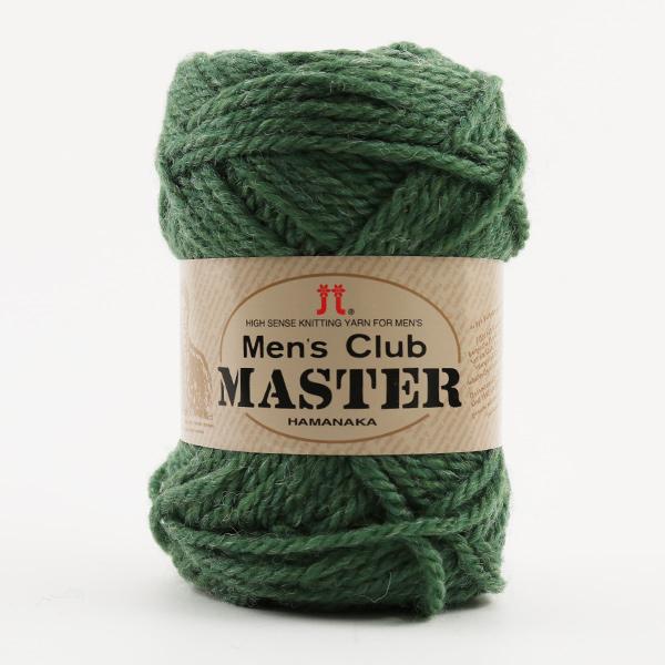 秋冬毛糸 『Men's Club MASTER (メンズクラブ マスター) 65番色』 Hamanaka ハマナカ