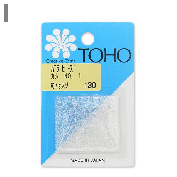 ビーズ 『バラビーズ 丸小 No.1』 TOHO BEADS トーホービーズ