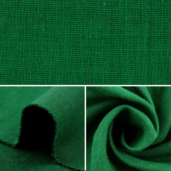【数量5から】生地 『ふわふわ大人のWガーゼ (ダブルガーゼ) アイビー』 COTTON KOBAYASHI コットンこばやし 小林繊維