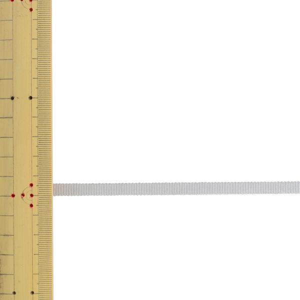 【数量5から】 リボン 『レーヨンペタシャムリボン SIC-100 幅約7mm 100番色』
