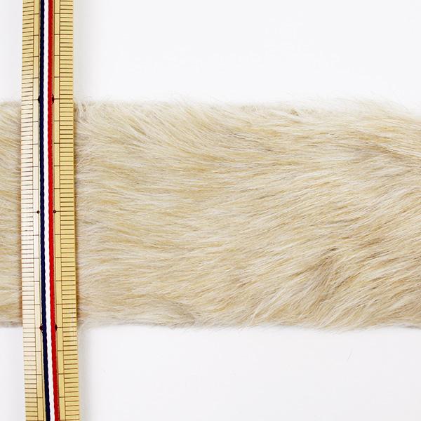 【数量5から】リボン 『フェイクファーテープ 100mm幅 6色 5:Beige』