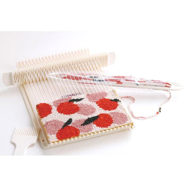 手織りキット 『ダルマ 絵織糸 バラ 色番:0009』 DARUMA ダルマ 横田
