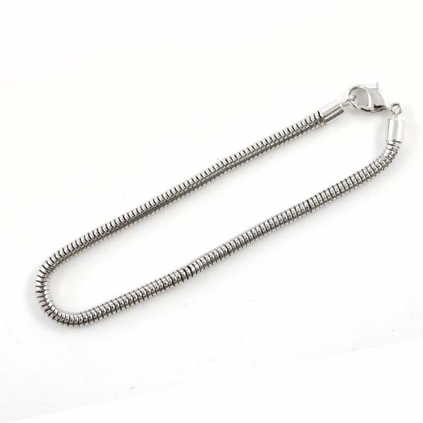 スワロフスキー 『#80000 BeCharmed Bracelet ビーチャームドビーズ用ブレスレット 190mm 1ヶ』 SWAROVSKI スワロフスキー社