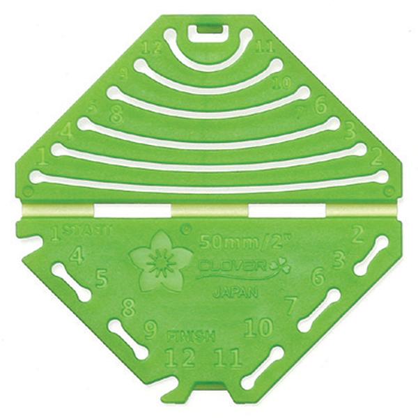 モチーフ型 『つまみ細工プレート 菱つまみ S 57-455』 Clover クロバー