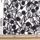 【ブランド生地P15】 生地 『kippis(キッピス) オックス カットクロス 約50cm ブルーベリー Mustikka ホワイト KPOK-50A』