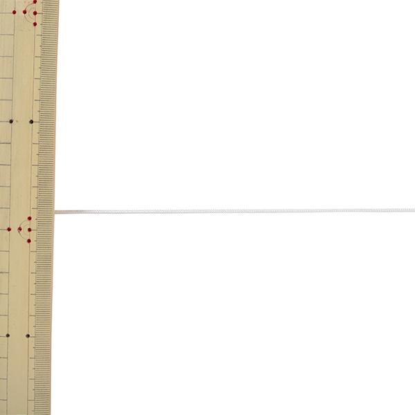 【数量5から】 手芸ひも 『H-1100 コード 幅約1mm 1番色』