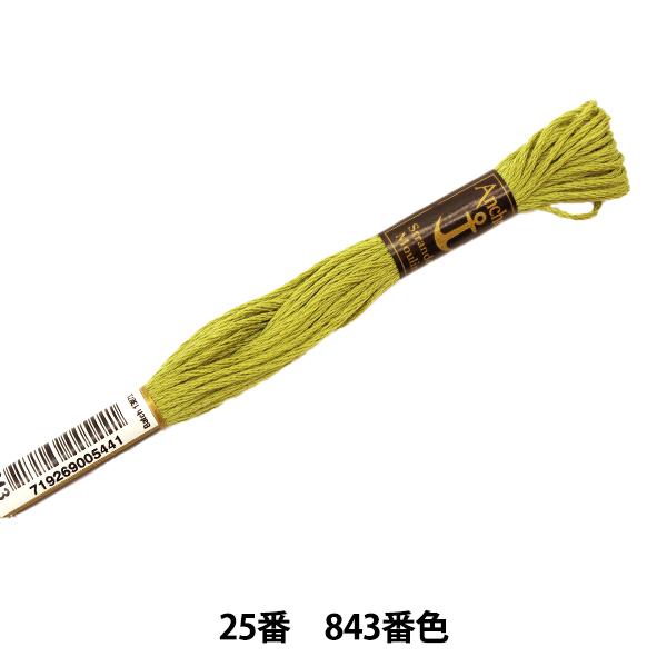 刺しゅう糸 『Anchor(アンカー) 25番刺繍糸 843番色』