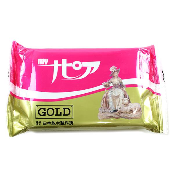 紙粘土 『myナピア GOLD 480g 813』 日本教材製作所
