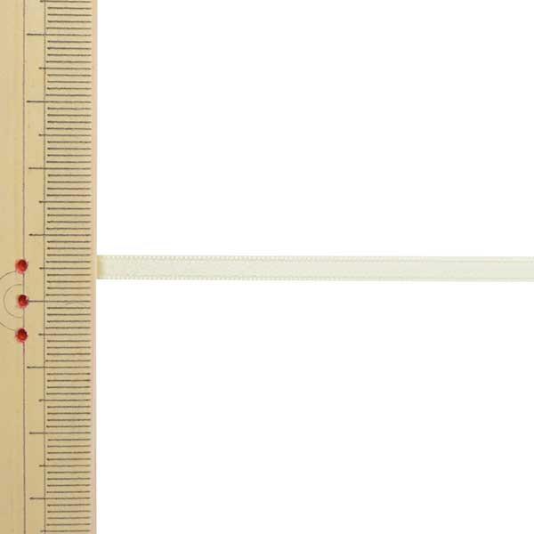 【数量5から】 リボン 『ポリエステル両面サテンリボン #3030 幅約4mm 42番色』