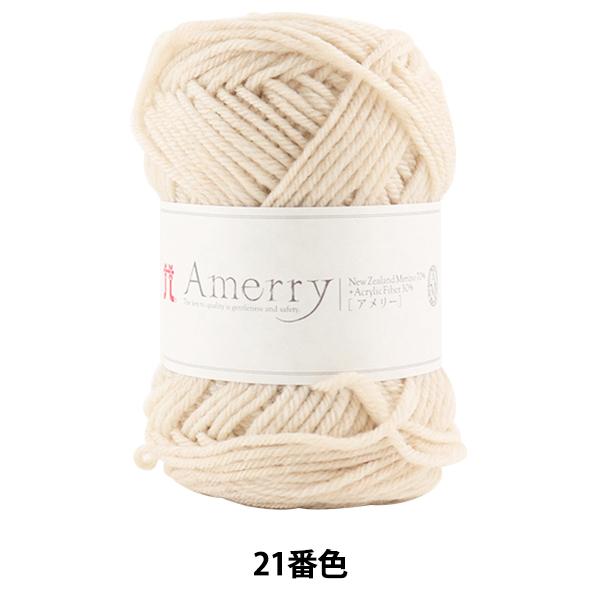 秋冬毛糸 『Amerry(アメリー) 21番色』 Hamanaka ハマナカ