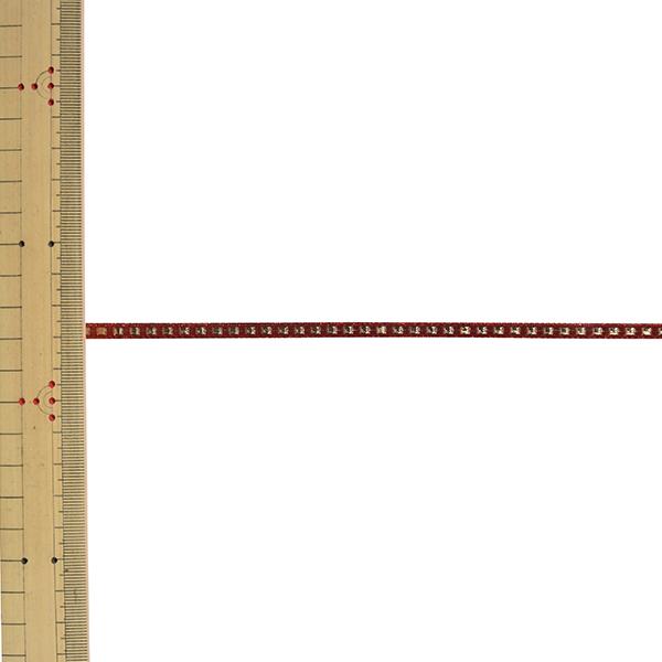 【数量5から】 リボン 『ジュエルステッチ 幅約5mm 101番色 51923』 TOKYO RIBBON 東京リボン