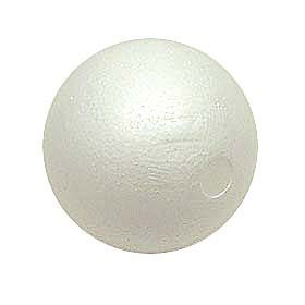 【コスプレ関連最大20%オフ】 『素ボール 100mm 1個』 発泡スチロール 球 丸 工作 コスプレ資材