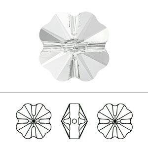 スワロフスキー 『#5752 Clover Beads クリスタル 12mm 2粒』 SWAROVSKI スワロフスキー社