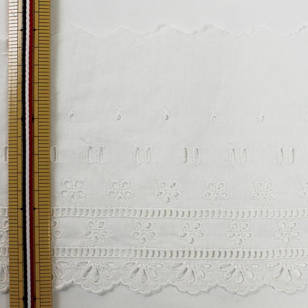 【数量5から】レースリボンテープ 『綿レース 幅広 オフホワイト 約15cm 23292-1』
