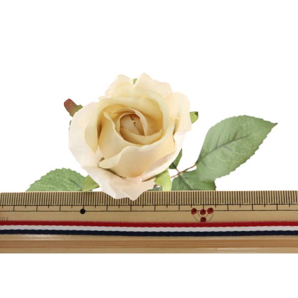 造花 シルクフラワー 『エリーローズバッド ベージュ』