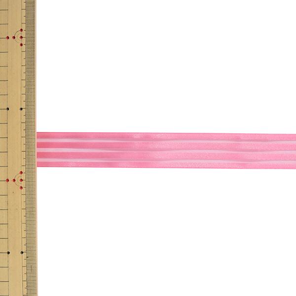 【数量5から】 リボン 『レイヤーストライプ 幅約2.4cm 30番色 51912』 TOKYO RIBBON 東京リボン