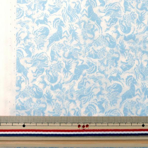 【数量5から】生地 『LIBERTY リバティプリント タナローン ミシカルクエスト ブルー』 Liberty Japan リバティジャパン