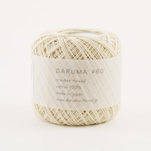 レース糸 『DARUMA #60 2番色』 DARUMA ダルマ 横田