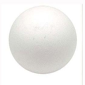 発泡スチロール 素材 『素ボール 真球型 直径150mm 1個入り S150-1』
