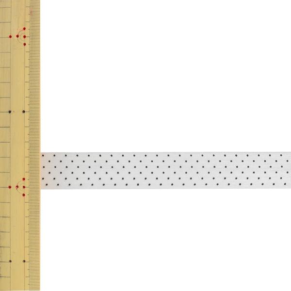 【数量5から】 リボン 『ドットプリントリボン SIC-312 幅約2.5cm 10番色』
