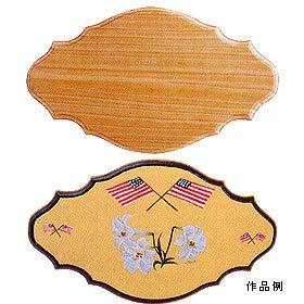 トールペイント土台 『白木 フレンチプラーク・M B-732』 Country Craft カントリークラフト