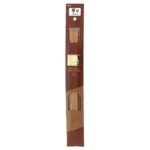 編み針 『硬質竹編針 4本針 30cm 9号』 mansell マンセル【ユザワヤ限定商品】