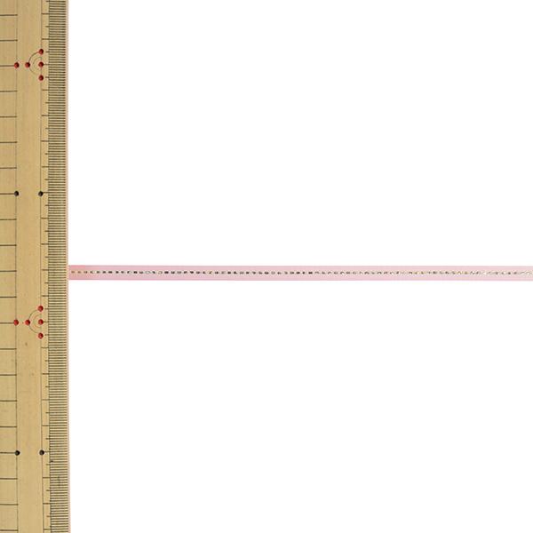 【数量5から】リボン 『グリッターWサテン ゴールド 幅約6mm 163番色 ベビーピンク 33115』 TOKYO RIBBON 東京リボン