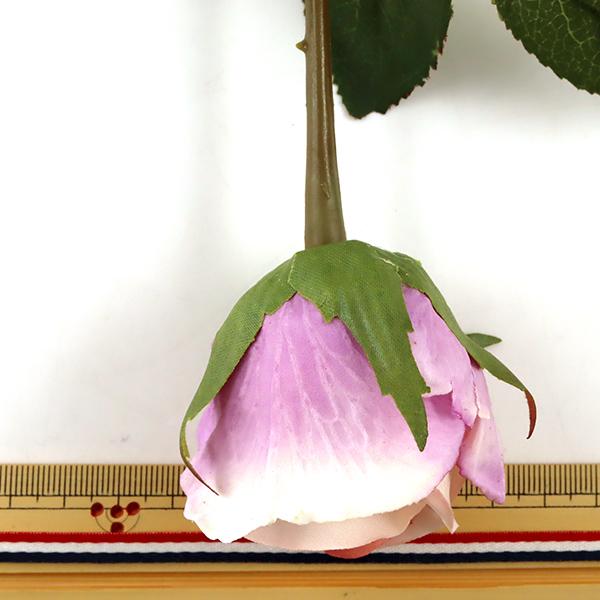 造花 シルクフラワー 『エリーローズバッド ピンク』